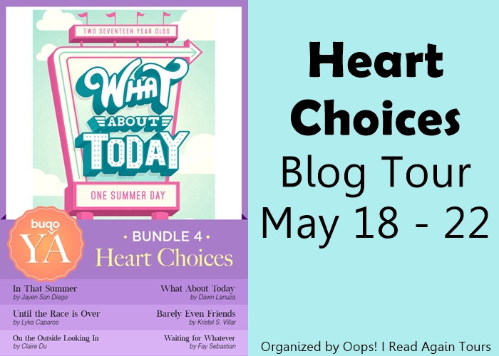 buqoYA Heart Choices blog tour